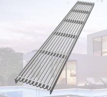 - 내식성이 강한 스테인리스강 재질로 제작되어 - 건물 내/외부에 보행자 통행로에 설치가 적합하다.- 선형배수공 형태로 배수능력이 원할하다.- 소형배수로에 특화된 제품